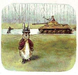 Peter Rabbit   Tank Killer  When Sven Hassel Met Beatrix Potter     IT was the literary partnership of the century