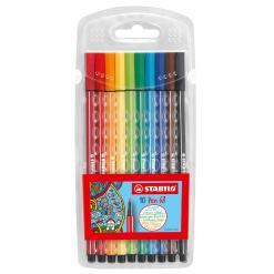 Stabilo Pen 68 - felt tip - 10 colours