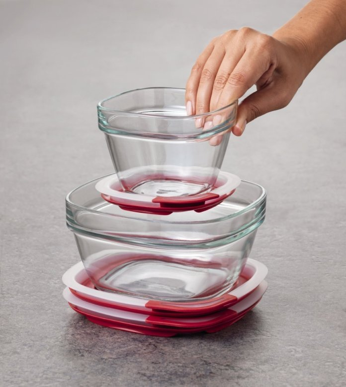 33 Off Rubbermaid Easy Find Lid Glass Food Storage Container Deal