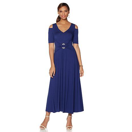 3c2ec3202 Liz Lange Cold-Shoulder Ultimate Maxi Dress Deal - Flash Deal Finder