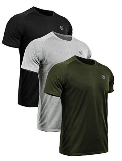 bef68337 Neleus Dry Fit Mesh Athletic Shirts Deal - Flash Deal Finder
