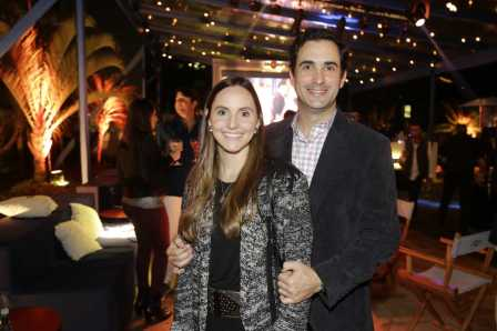 Federico Pires e Maria Leon