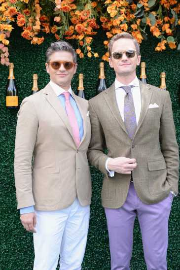 Actor David Burtka and host and actor Neil Patrick Harris