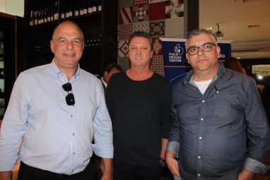 Ronaldo Tancini, Cesar Abner Pintor e Valter Correa