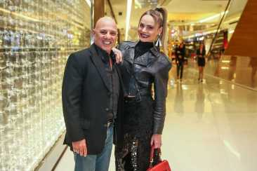Fernada Abreu e o marido