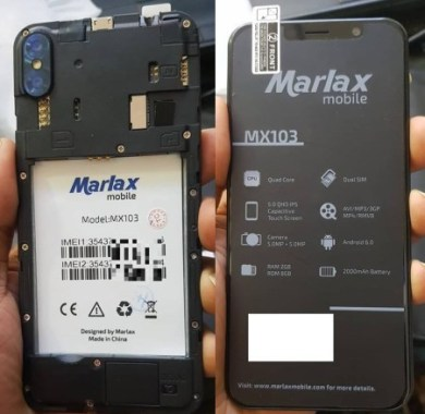 Marlax MX 103 Flash File [Hang Logo Dead Recovery LCD Fix Firmware]100% Tested