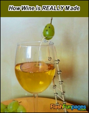 How Wine Is REALLY Made Ecards For Facebook