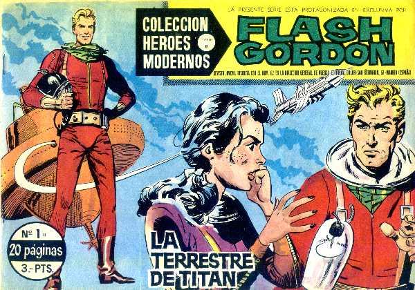 FLASH GORDON N.1 DE HEROES MODERNOS DOLAR SERIE B