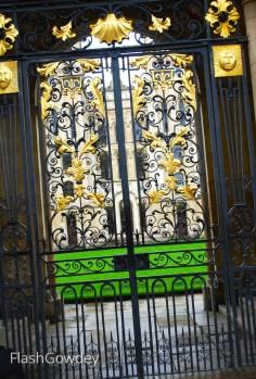 Oxford University Gates, Oxford, UK (October 2014)