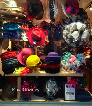 The Hat Box in the Covered Market, Oxford, UK (October 2014)