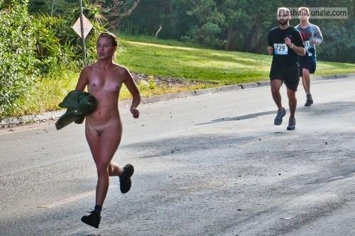 Naked Jogging