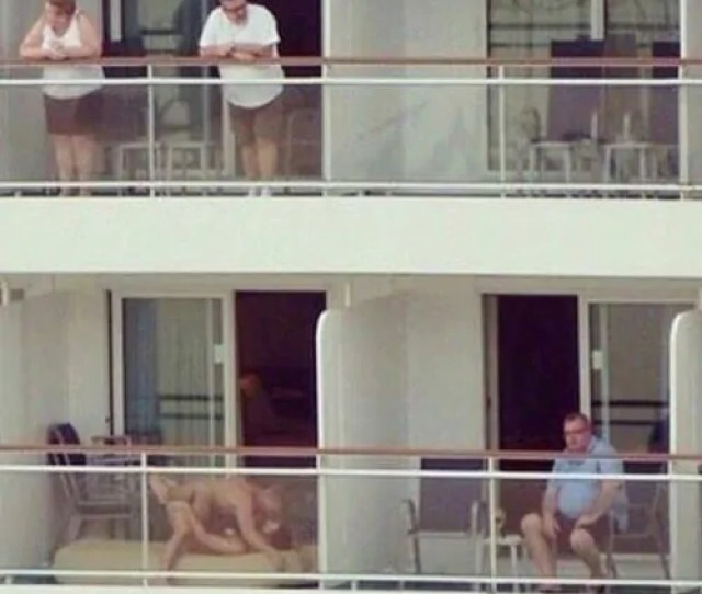 Couple Caught Having Sex On Balcony In Front Of Neighbors