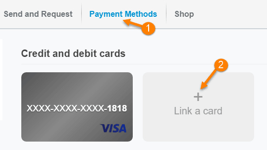 Link paypal
