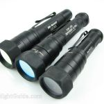 SureFire EB1, EB2, and E2D LED Defender Ultra with filters