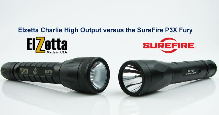 Elzetta Charlie vs SureFire P3X Fury
