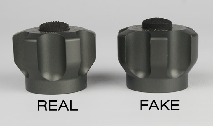 SureFire SW01 Fatty Real vs Fake