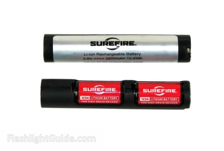 SureFire R1 Lawman battery