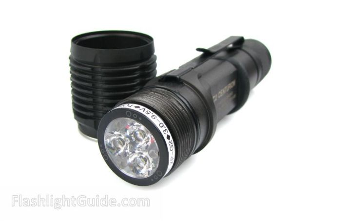 OVEREADY TorchLab Triple P60 drop-in in SureFire C2