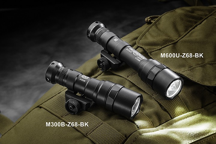 SureFire M300B and M600U Scout Lights