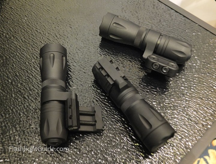 Elzetta Mini-CQB weapon lights at 2015 SHOT show