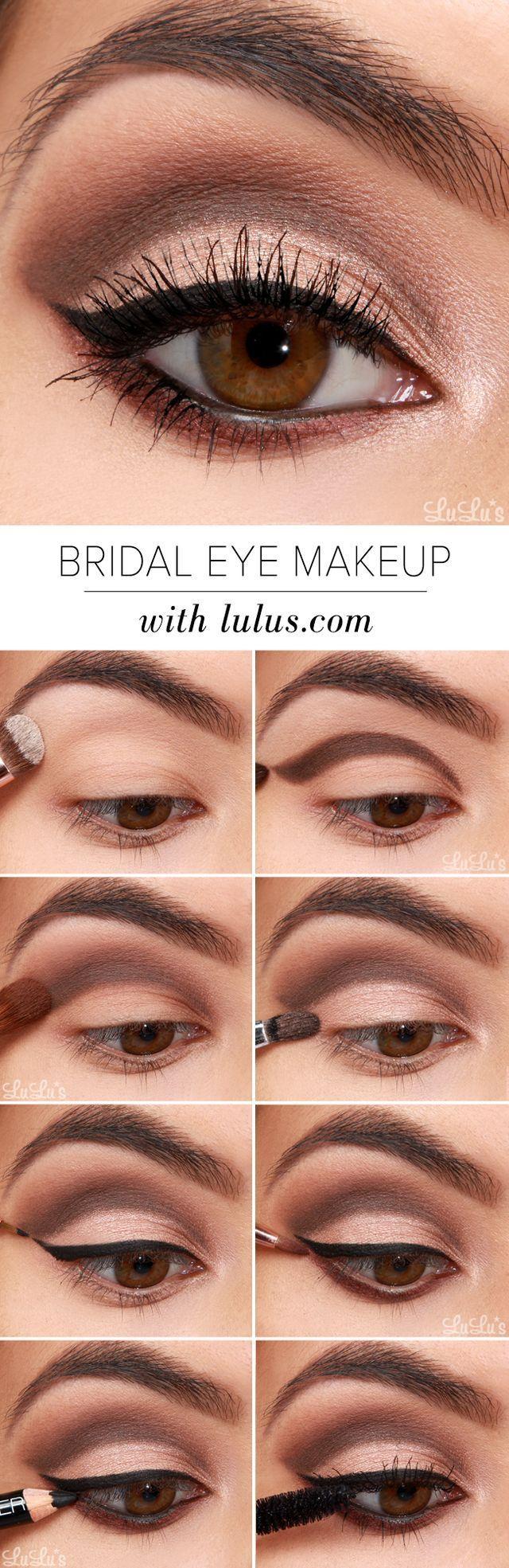 Simple Glamorous Eye Makeup Anexa Market
