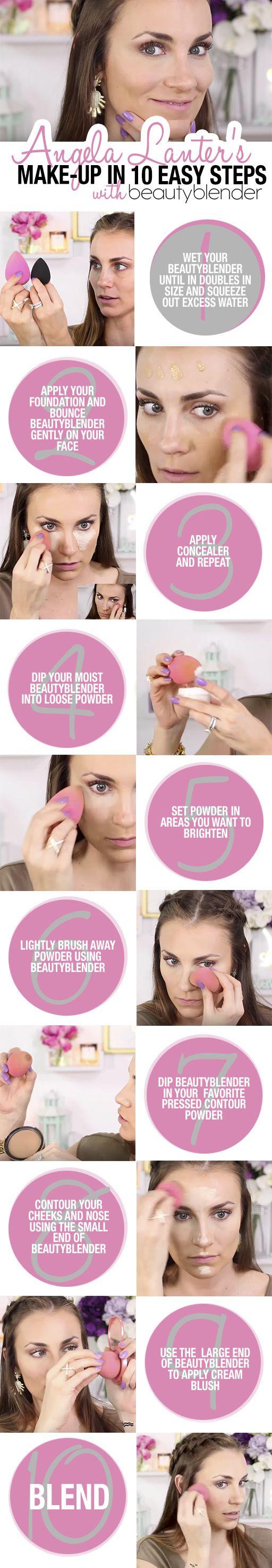 Best Ideas For Makeup Tutorials Full Face Tutorial Using A