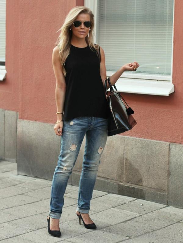 jeans-boyfriend-femme-ootd-sac-a-main-chaussures-à-talon