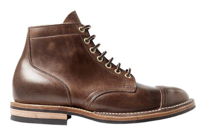 Bottes homme Service Viberg bottines marron chaussure cuir