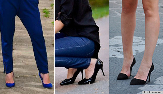 Les souliers pointus...et les bottes aussi!
