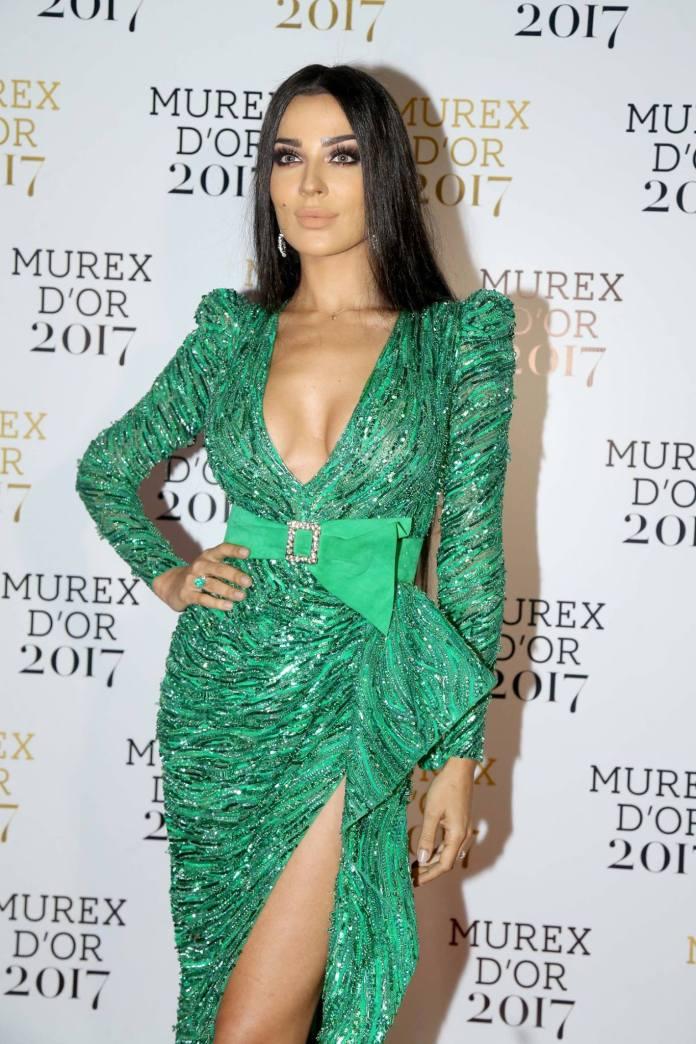 Murex D'or 2017 - look de Nadine Nassib Njeim sur tapis rouge