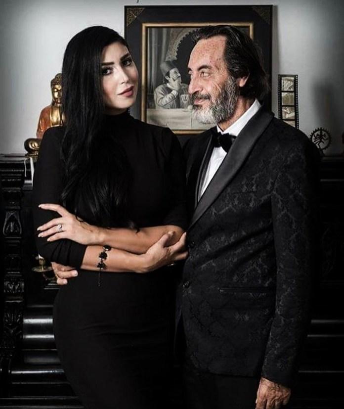 Stars Tunisiennes - Hichem Rostom et sa femme