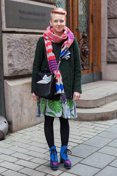 Tendance Street style pour femmes a Helsinki