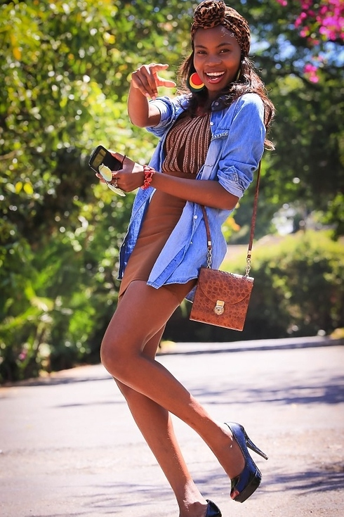 Tendance Street style pour femmes a Nairobi
