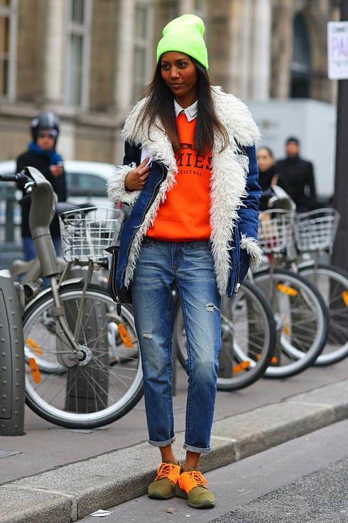 Street style pour femmes a Paris