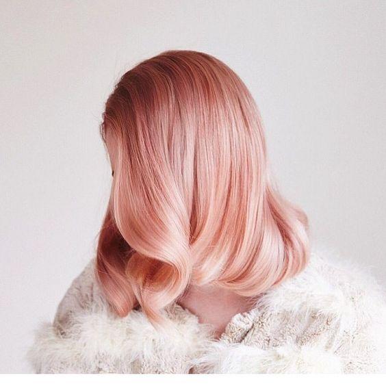 Nuance Blorange Hair Color tendance été 2017