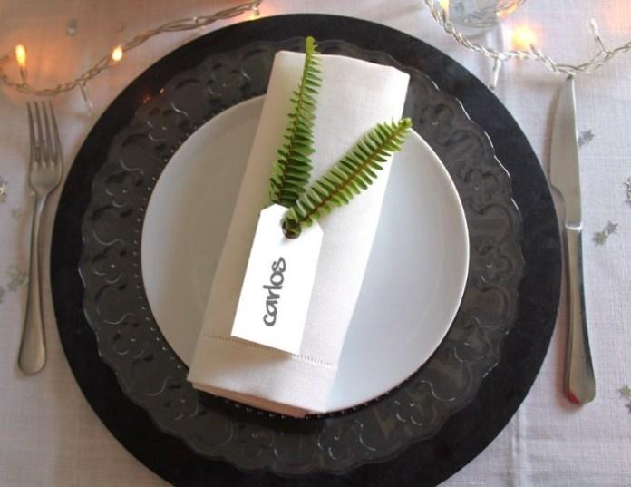 Détails pour vos tables de fête-Détail des serviettes2