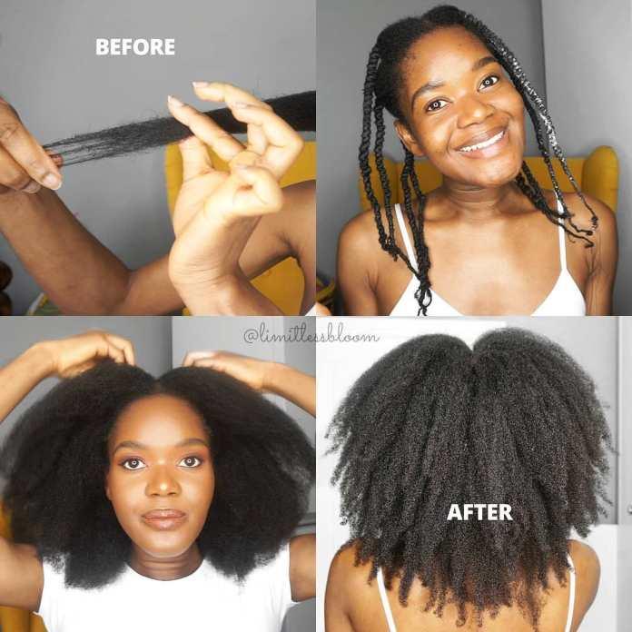 Comment couper les extrémités fendues pour les cheveux africains bouclés naturels
