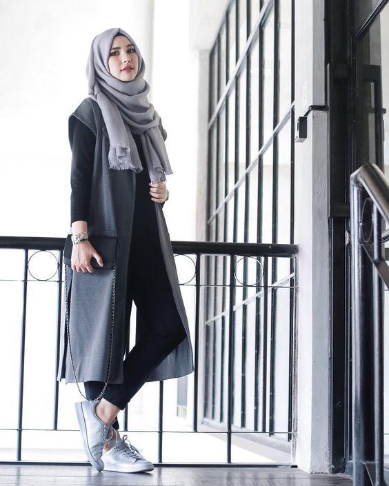 Hijab Fashion look 2016- 12