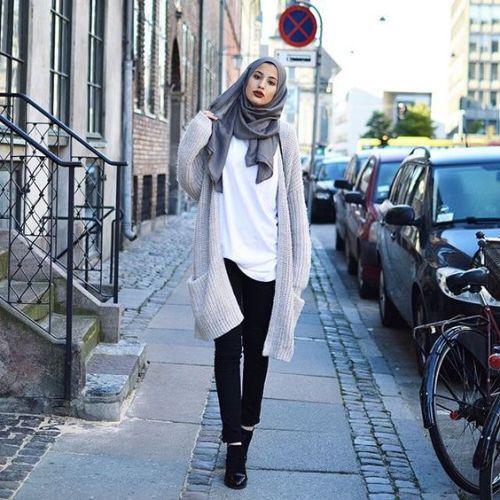 Hijab Fashion look 2016- 7
