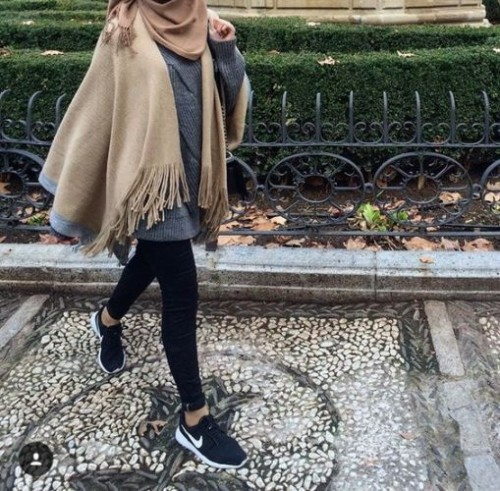 Hijab Fashion look 2016- 9