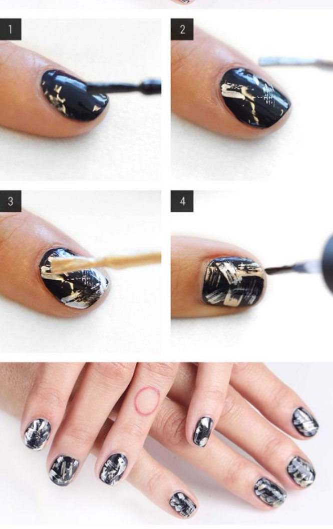 Nail Art Pour Facile On Pied