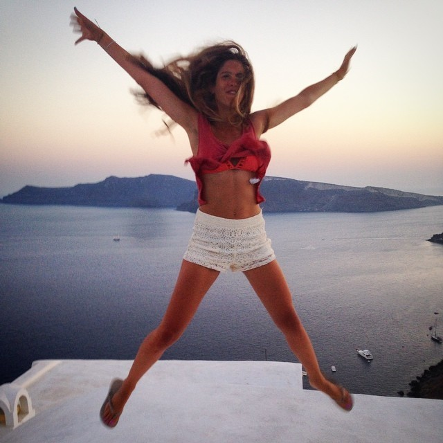 margarita-papandreou-4 H Mαργαρίτα Παπανδρέου χαίρεται τη ζωή στην Κρήτη