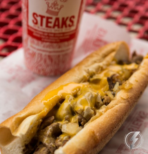 The Steak Wit Wiz at Pat's King of Steaks in Philadelphia, PA is a staple for visitors ranging from President Barack Obama to celebrity chef, Rachel Ray.