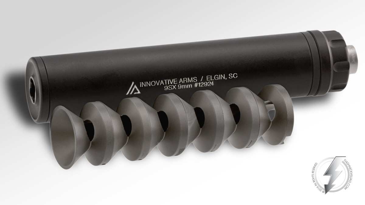 Innovative Arms 9mm Suppressors and Integral MPX