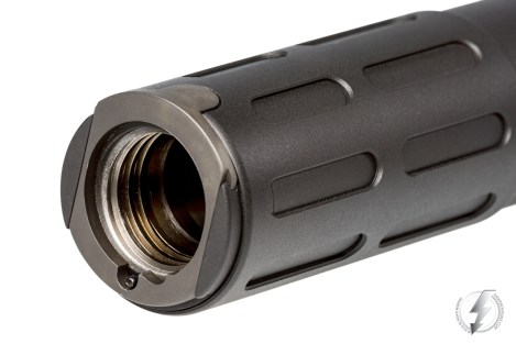 The Innovative Arms INTERCEPTOR™ in all of its variations comes with one quick attach flash hider mount that allows for attachment and removal from the barrel in seconds.