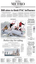 Easter Regatta on Lake Murray in Columbia, SC featuring competitive sailors from around the nation.