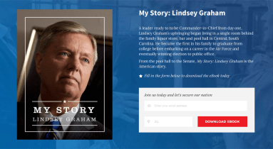 My Story: Lindsey Graham eBook Cover