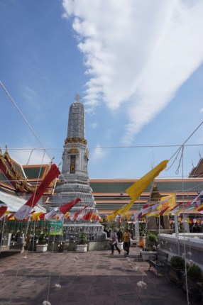 New Year Flags in Wat Po