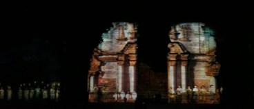 San Ignacio Mini Light Show