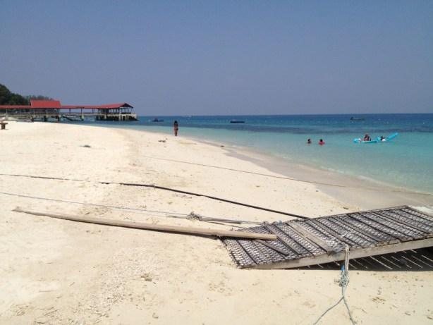 Perhentian Islands White Powder Sand